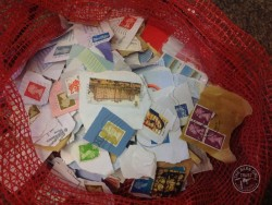Recycling Used Stamps