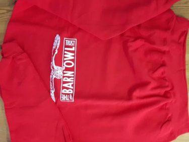 Red White Large Logo Sweatshirt