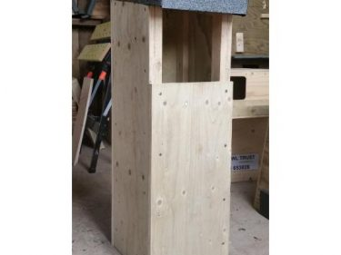Tawny Owl Nestbox Front