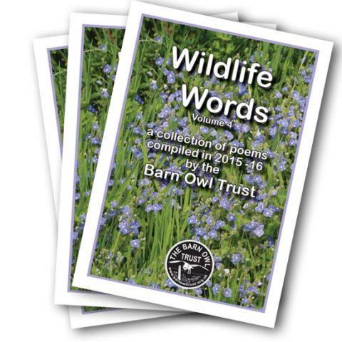 Wildlife Words poetry book Vol 4