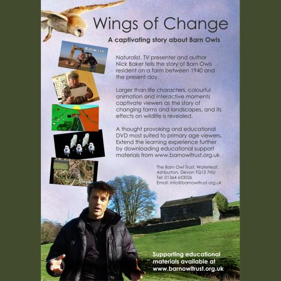 Wings Of Change DVD Back Cover