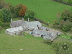 Indoor Barn Owl Nestboxes Aerial Traditional Farm Buildings