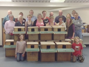 Nestbox Workshop Pensilva Completed Boxes