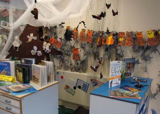 Nocturnal Animal Reading Corner Euxton CE Primary School Lancashire
