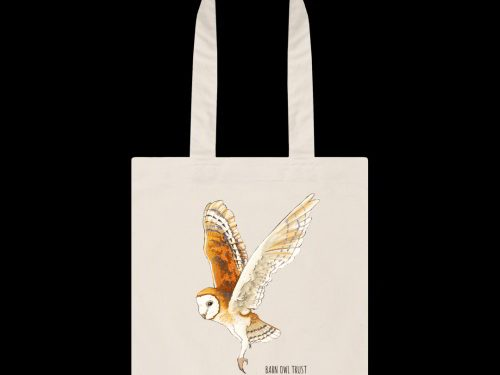 Organic Cotton Barn Owl Bag