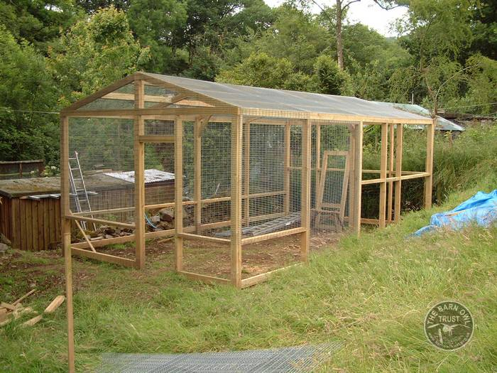 Aviaries For Barn Owls The Owl Trust