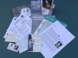 Adopt a Barn Owl Postal Adoption Pack