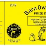 Prize Draw Ticket 2019