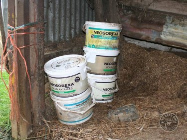 Rat Poison Rodenticide Neosorexa On Farm