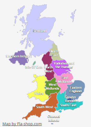Uk Interactive Map