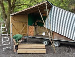 Volunteer Vacancies Practical Work Trailer