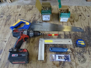 Water Trough Construction Tools