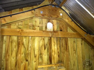 Barn Owl Internal Provision Access Hole Inside