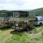Two New Mobile Aviaries With Vehicles