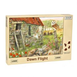 Barn Owl Jigsaw Puzzle Dawn Flight