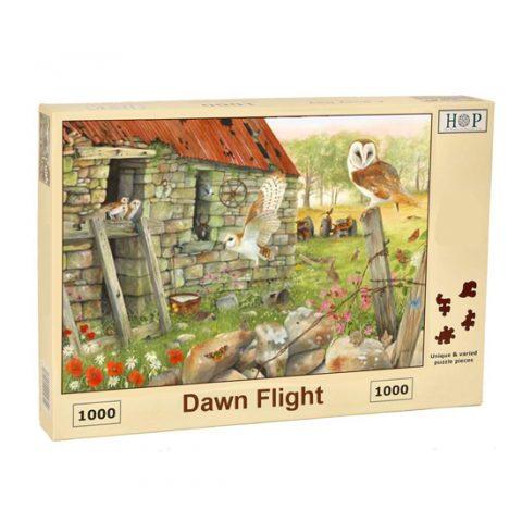 Barn Owl Jigsaw Puzzle Dawn Flight