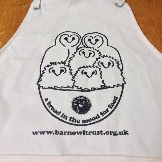 Barn Owl Trust Apron 1