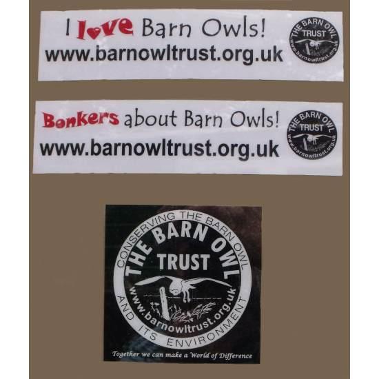Barn Owl Trust Car Stickers