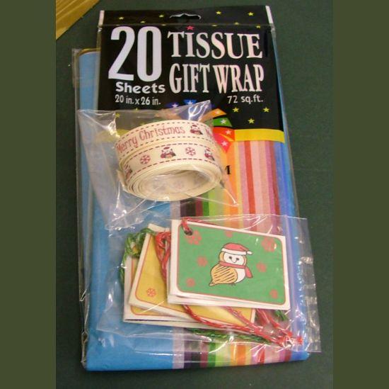 Barn Owl Trust Christmas Gift Wrap Pack