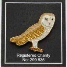 Barn Owl Trust Enamel Pin Badge