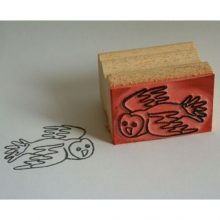 Barn Owl Trust Flying Owl Stamp And Impression