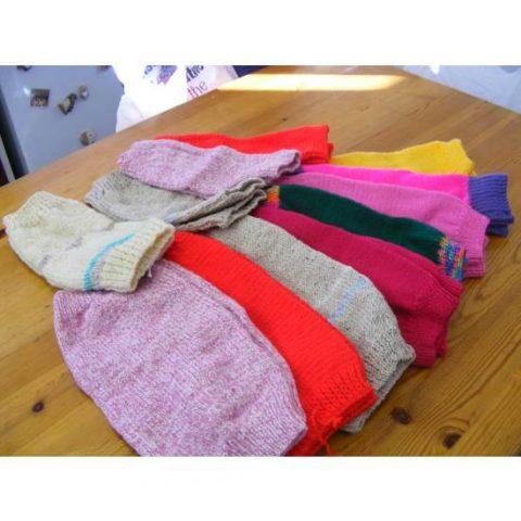 Barn Owl Trust Leg Warmers Plain Colours