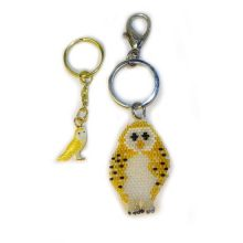 owl key ring set