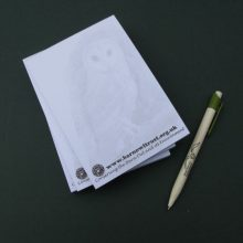 Barn Owl Trust Owl Note Pad And Pen