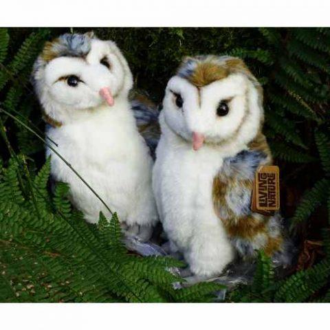 Barn Owl Trust Soft Toy Barn Owl Duo