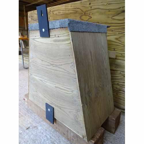 Barn Owl Trust Tree Box Back Fixing Side