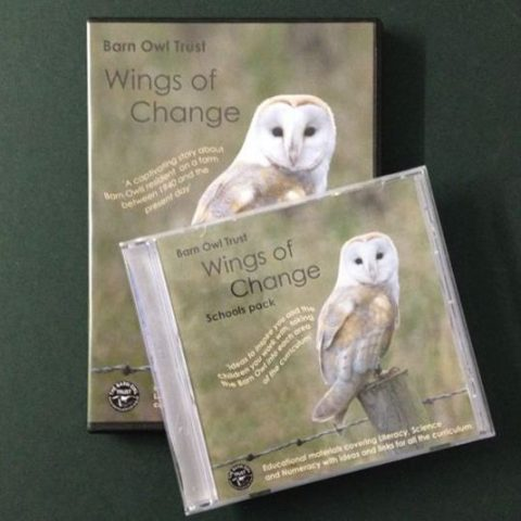 Barn Owl Trust Wings Of Change DVD & Schools Pack
