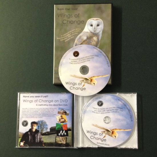 Barn Owl Trust Wings Of Change DVD & Schools Pack Discs