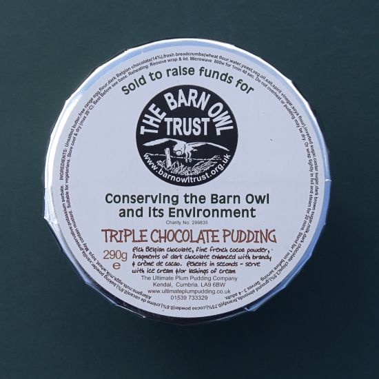Barn Owl Trust Triple Chocolate Pudding