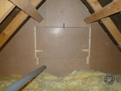 Barn Owl Loft Partition Construction 04
