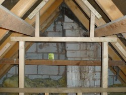 Barn Owl Loft Partition Construction 05