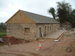 Barn Owl Provision Holes Buildings Barn Conversion 07