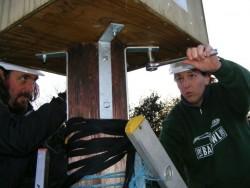 Erecting A Polebox Bby Hand 14