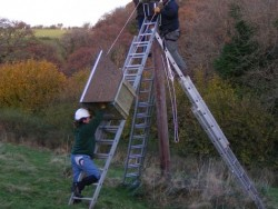 Erecting A Polebox By Hand 08