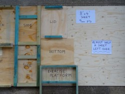 Indoor Barn Owl Nestbox Construction 01