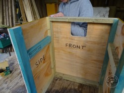 Indoor Barn Owl Nestbox Construction 06