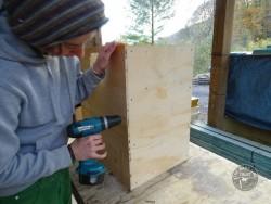 Indoor Barn Owl Nestbox Construction 07