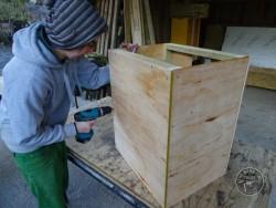 Indoor Barn Owl Nestbox Construction 09