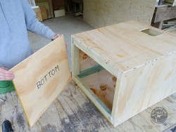 Indoor Barn Owl Nestbox Construction 10