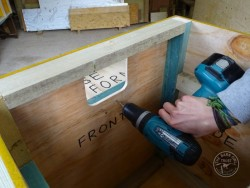Indoor Barn Owl Nestbox Construction 15