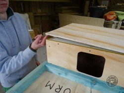 Indoor Barn Owl Nestbox Construction 17
