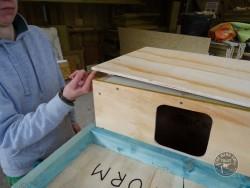 Indoor Barn Owl Nestbox Construction 17