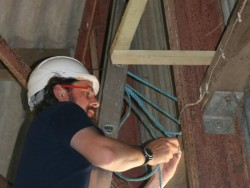 Indoor Barn Owl Nestbox Erection 20