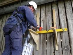 Indoor Barn Owl Nestbox Erection 25