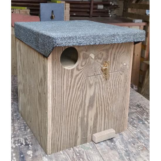 Little Owl Nestbox Front
