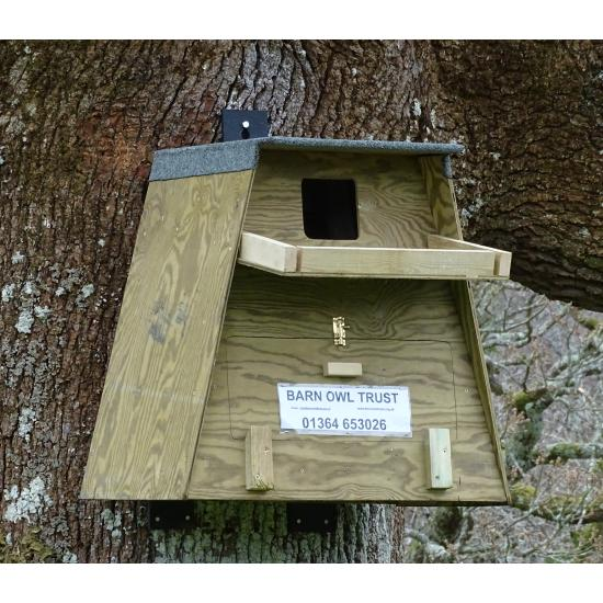 Tree Nestbox On Plastic Hangers